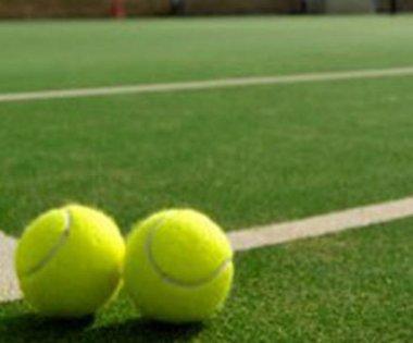 Suni çim tenis kortu yapımı