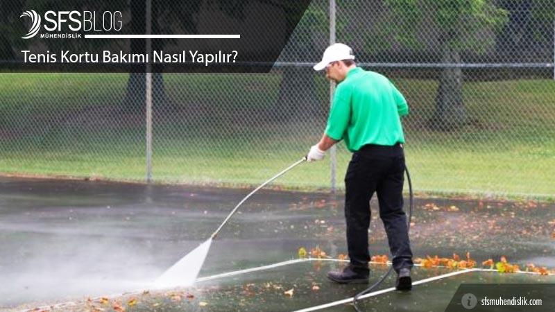 Akrilik Tenis Kortu Bakımı